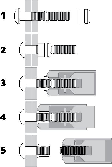 Lockbolt Installation Drawing