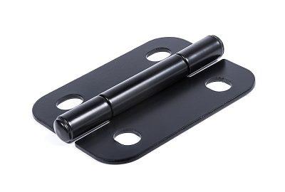 Adjustable hinge for electrical enclosures